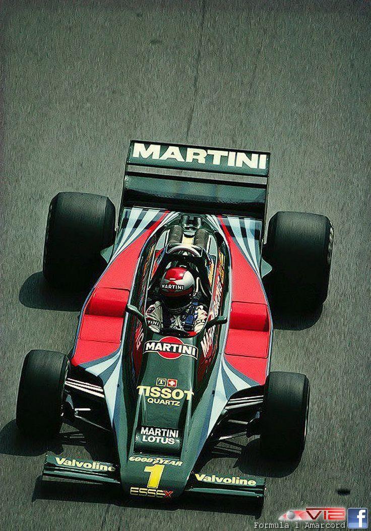 Mario Andreti - Lotus 80