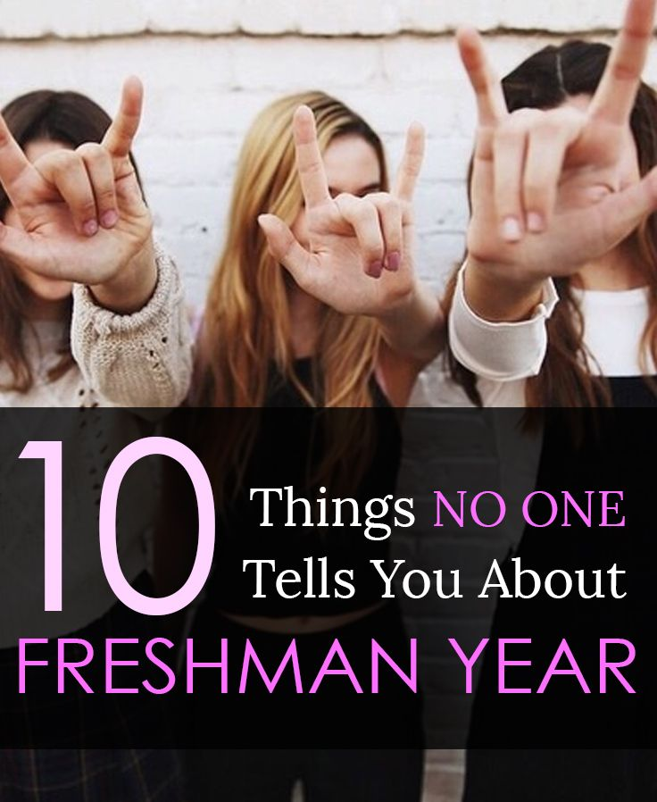 10 Things No One Tells You About Freshman Year in College - From time management to campus activities, there's so much you'll learn during your first year of college.
