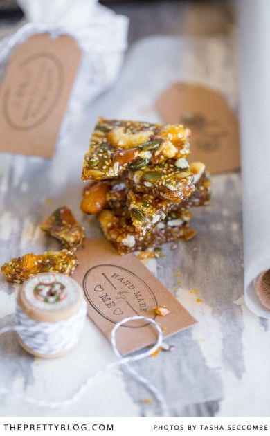Homemade Nutty Seed Brittle | Recipes | The Pretty Blog