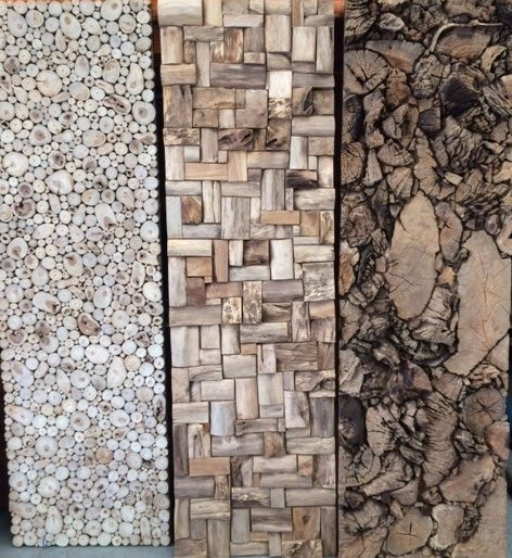 Reclaimed timber panels 200x60cm