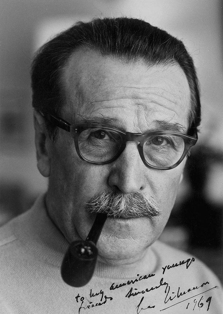 Georges Simenon (Georges Joseph Christian Simenon), Bellgian novelist. Creator of the Maigret mysteries
