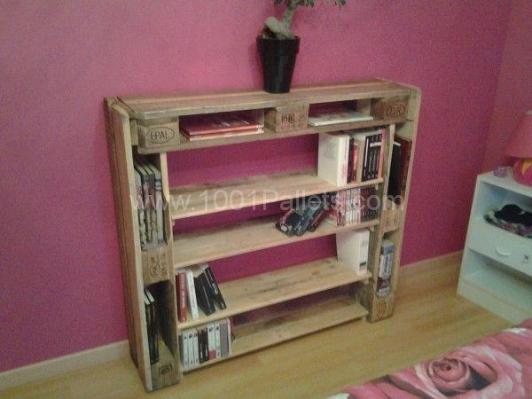 Bibliothèque / Pallet Bookshelf | 1001 Pallets