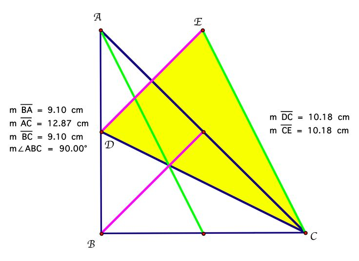 Image result for right angled triangle not isosceles