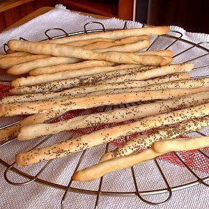 De Kooktips - Grissini (Italiaanse broodstengels)