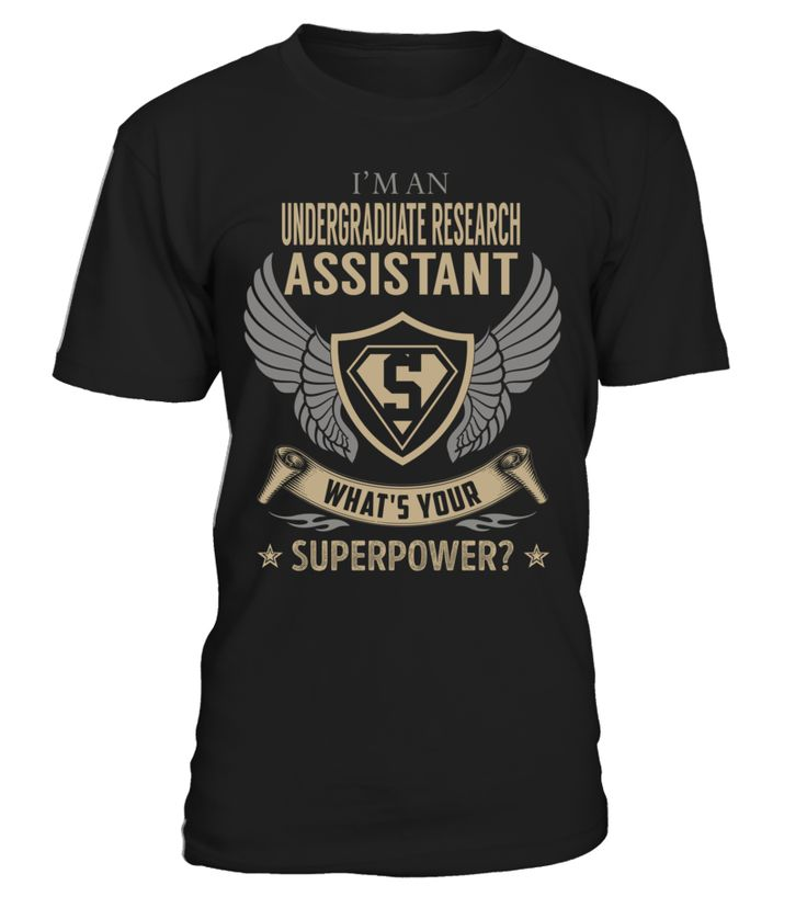 Undergraduate Research Assistant - What's Your SuperPower #UndergraduateResearchAssistant