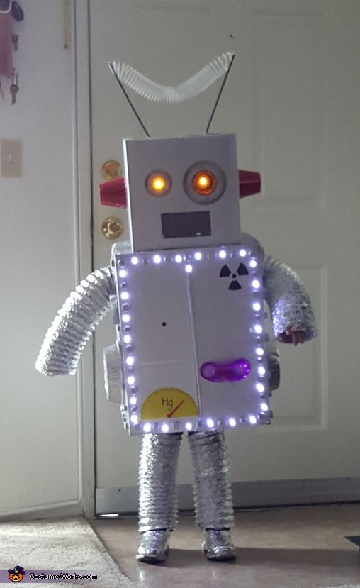 Kimberly: My son Brody is 5. He said for halloween he wanted to be a Robot. we were looking at robot costumes online and nothing stuck out to him. He wanted...