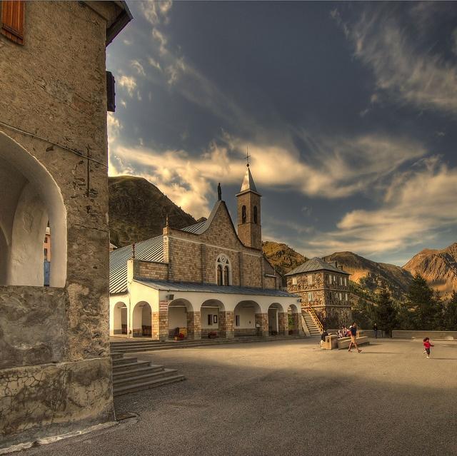Santuario di Sant'Anna di Vinadio, Cuneo Piemonte