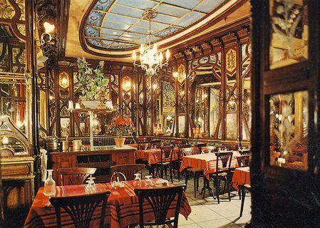 Restaurants de style Art Nouveau à Paris VI - Le Vagenende
