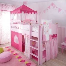ber ideen zu prinzessin betten auf pinterest. Black Bedroom Furniture Sets. Home Design Ideas