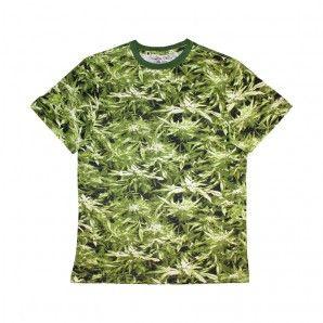 All over printing style cannabis shirt from MA Marijuana. Find more marijuana clothing brands and 420 t-shirts at www.marijuanaclothing.com