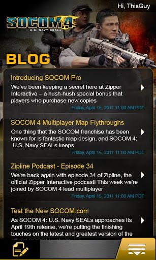 Socom App (Sony Computer Entertainment)