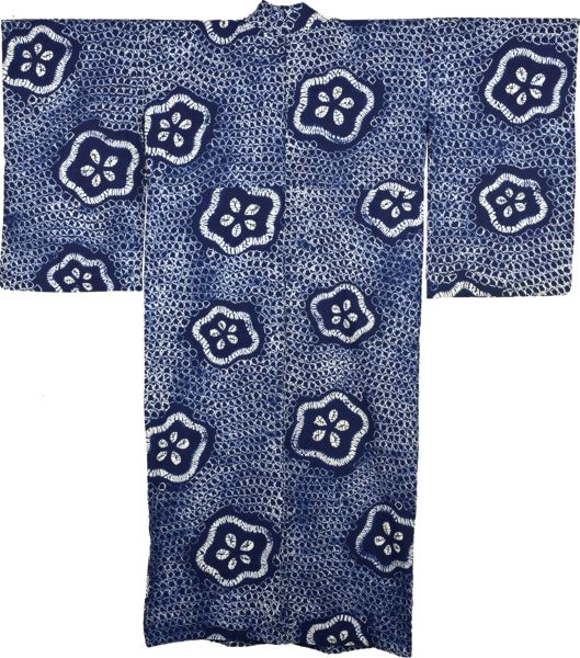 Shibori Yukata, Japanese Kimono Light summer cotton kimono are called a yukata…