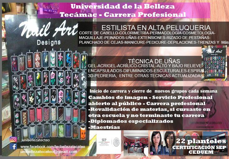 Academia  de belleza Tecámac y Teotihuacán5