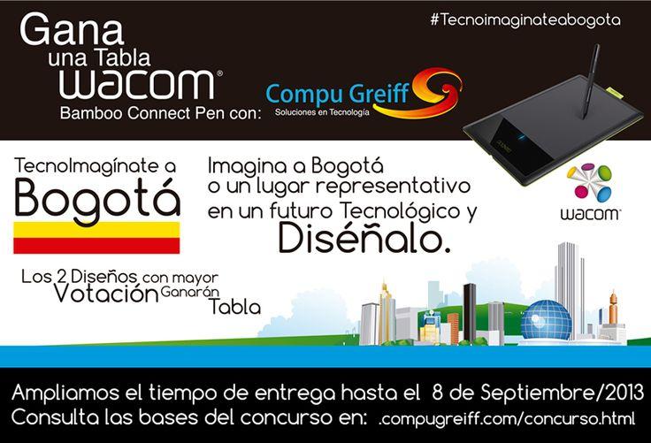 Concurso Ampliamos el tiempo de entrega hasta el 8 de Septiembre/2013