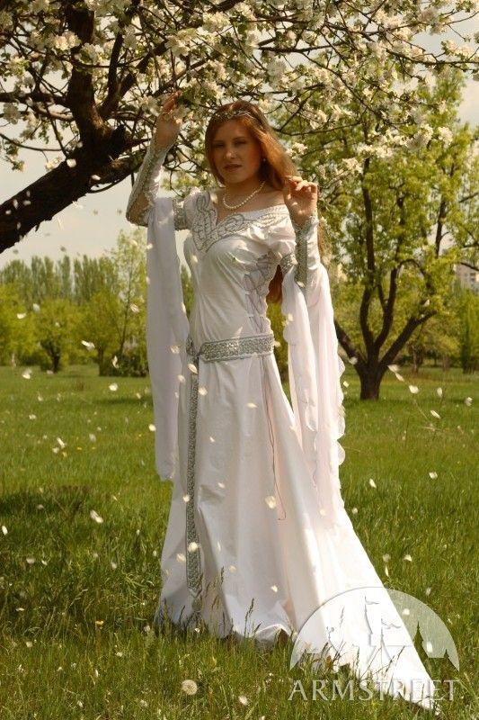 """Mittelalter Kleid Für Hochzeit """"Isolde"""""""