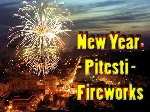 New Year   Pitesti   Fireworks