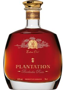 Plantation 20th Anniversary Extra Old Barbados Rum.  Aged in bourbon barrels and finished in cognac casks, this #rum earned a score of 94 points from the Beverage Testing Institute. | @Caskers