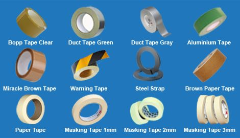 UBI General Trading LLC is a reputed Market Leader and Exporter of Tape in Dubai. Contact the best Tape Exporter in Dubai at www.ubigeneraltrading.com.