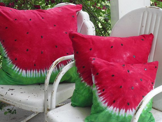 Tie dye decorative designer throw pillow covers Set by BrisTieDyes cool! $66.00