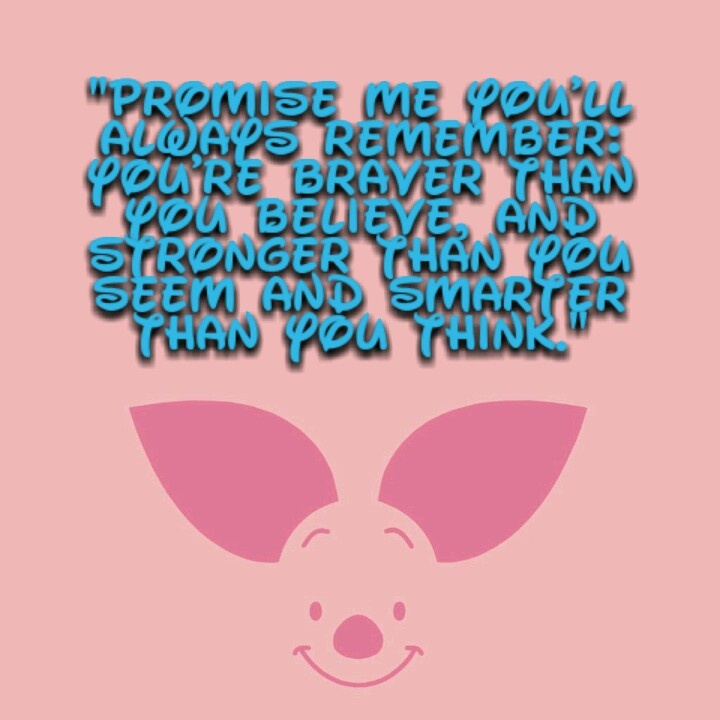 Piglet And Winnie The Pooh Quotes: Piglets, Love And Quotes