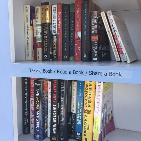How My Little Free Library Became Self-Sustaining BY SWAPNA KRISHNA | More tips and info from a steward whose Little Free Library has been running for over a year.