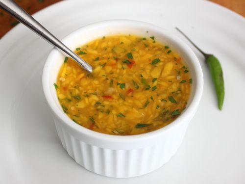 Mahi Mahi with Spicy Thai Chili Mango Sauce