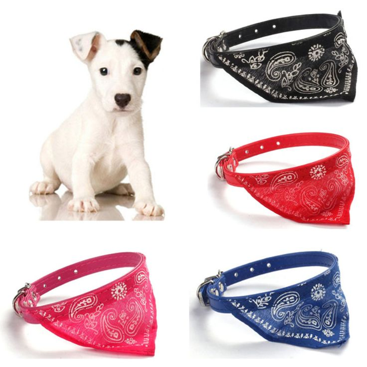 Top Grand New Adjustable Pet Dog Cat Puppies Hot Collars Scarf Neckerchief Necklace For Gfit Free Shipping  #E25