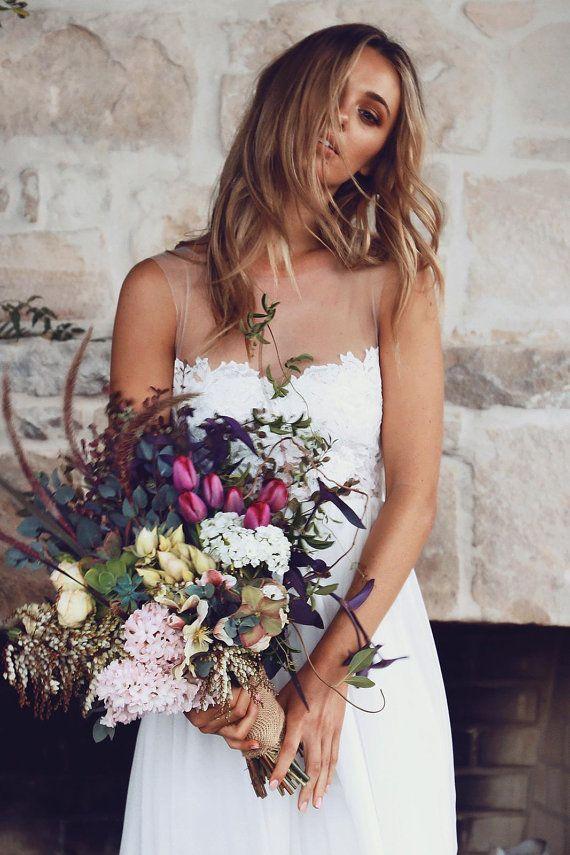 Grace aime la robe de mariée dentelle dentelle par Graceloveslace