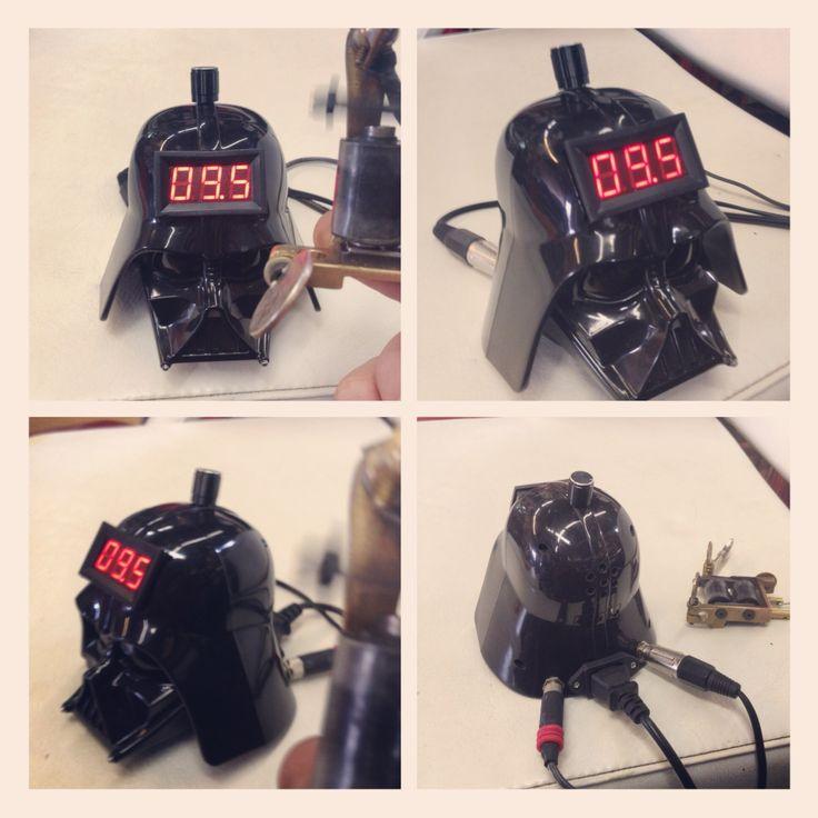 Darth Vader Tattoo Power Supply   #handmade #tattoopowersupply #tattoo #iamyourfather #darkside