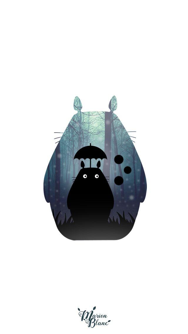 1000 ideas about screen wallpaper on pinterest lock - Totoro wallpaper iphone ...
