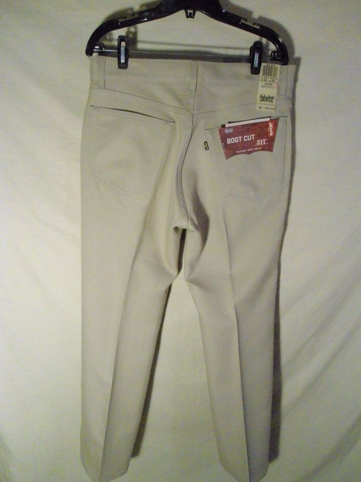 NEW Men's Levis Levi Strauss 517 Polyester Jeans Pants ...