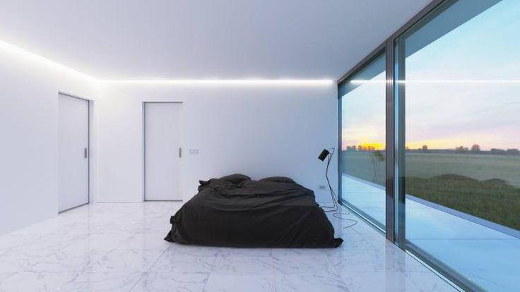 White Line – так называют этот загородный дом в Казахстане. Дизайн здания задуман так, чтобы выглядеть по-разному со всех сторон. Дом был установлен на сваи, а его каркасом стала бетонная конструкция, покрытая гладкой известковой штукатуркой. В этом проекте главной целью стало минимальное нанесение ущерба природному ландшафту, а большие окна подчеркивают строгость и цельность проекта.  Если в ваш дом нужны большие окна – обращайтесь к нам! Подробнее о моделях окон Glasso - по ссылке…