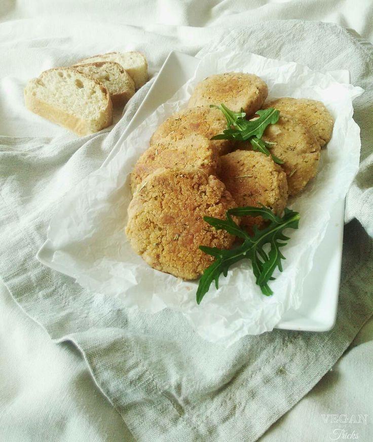 Burger di fagioli borlotti (ricetta in 5 minuti)
