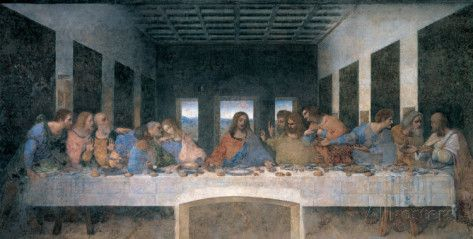 Das letzte Abendmahl Poster von Leonardo da Vinci bei AllPosters.de