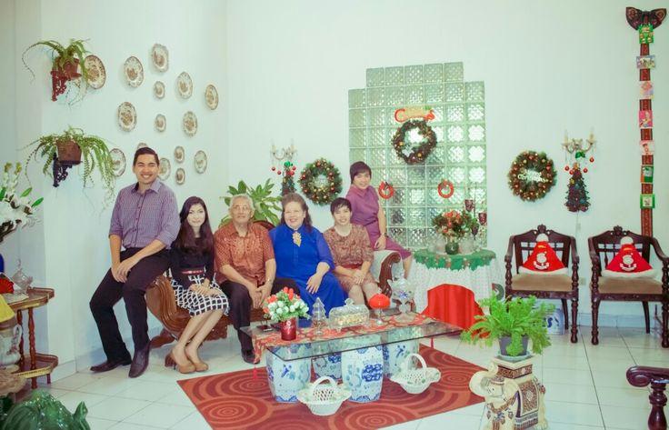 Family Christmas 2014 #familytime #family #maulany #christmas #natal