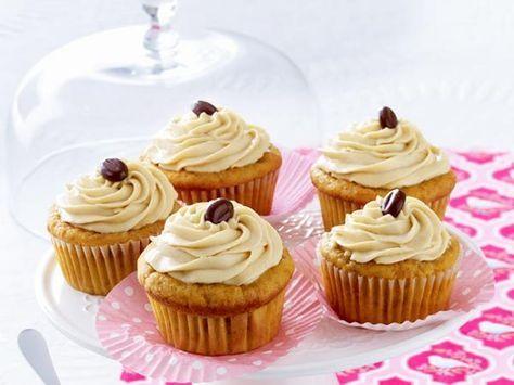 Cappuccino-Cupcakes mit Süßkartoffeln