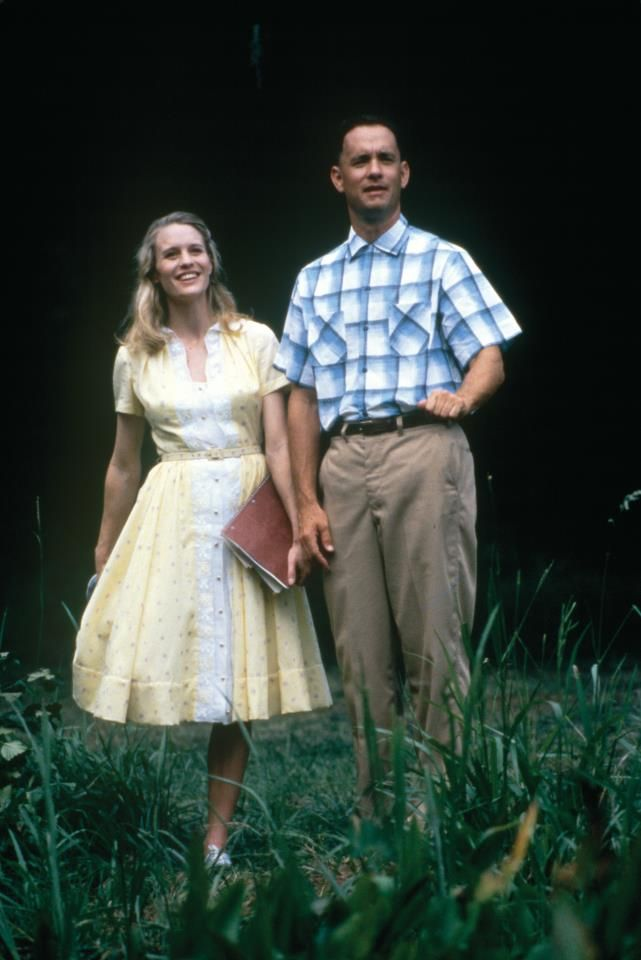 Tom Hanks - Forrest Gump And Jenny - piccmag.com | Famous People Photos