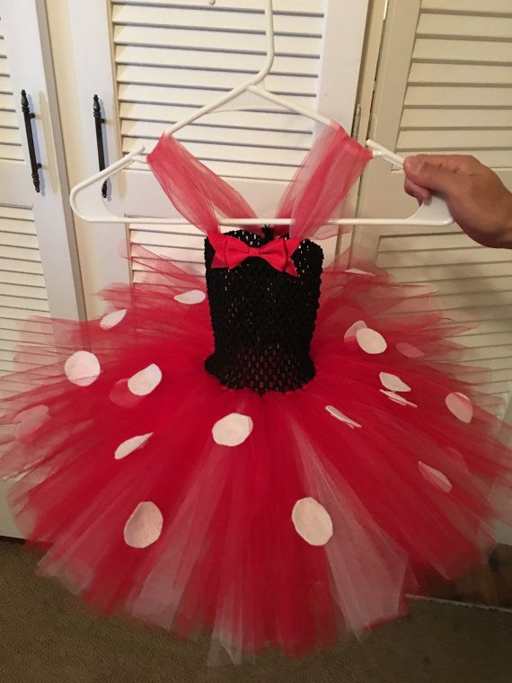 Extra Fluffy Minnie Mouse Tutu Dress Disney by WanderlustTulle