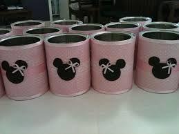 Resultado de imagen para manualidades con latas de leche y goma eva de mikey