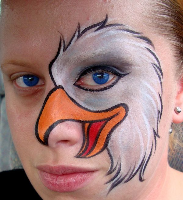 Eagle  (Face Painting) by Catherine Pannulla                                                                                                                                                                                 More