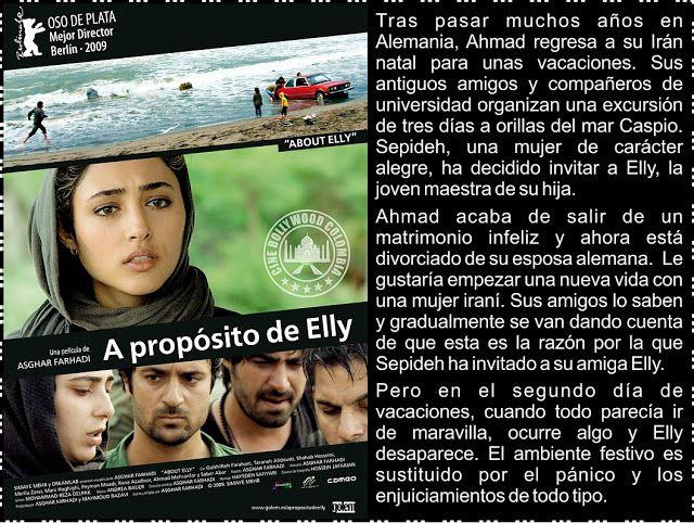 Cine Bollywood Colombia: A PROPÓSITO DE ELLY