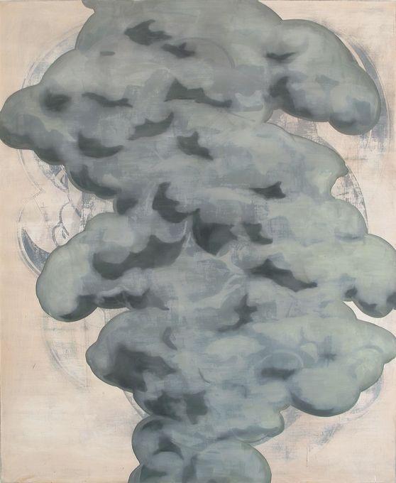 Anne Neukamp Smoke-I-2010-I-oil-tempera-canvas-I-220x180cm.