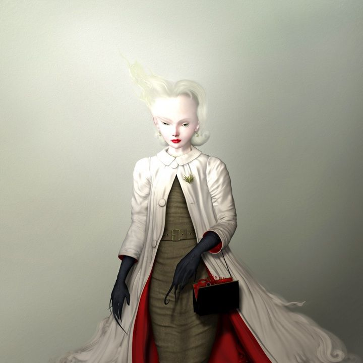 Ray Caesar - Gallery - UGH I LOVE RAY CAESAR'S WORK!  It's extremely dark but so very glamorous and lovely! Would kill to own an original of his!