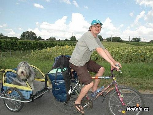 Na kole okolo Neusiedler See