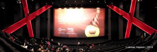 Sinema Ultra XD, Cinemaxx Maxx Box Lippo Village. (Lukman Hqeem   Benzano, 2015)