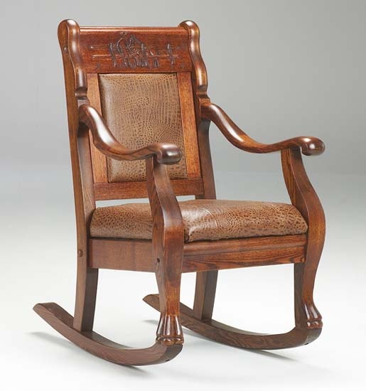 rocking chairs westerns forward kids western rocking chair closed for ...