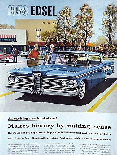 cool vintage auto advertisement