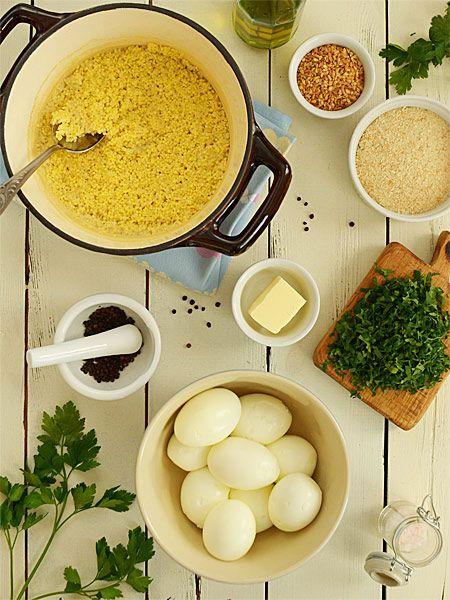 Kotleciki z jajek i kaszy jaglanej - pyszne, lekkie i zdrowe  - etap 1