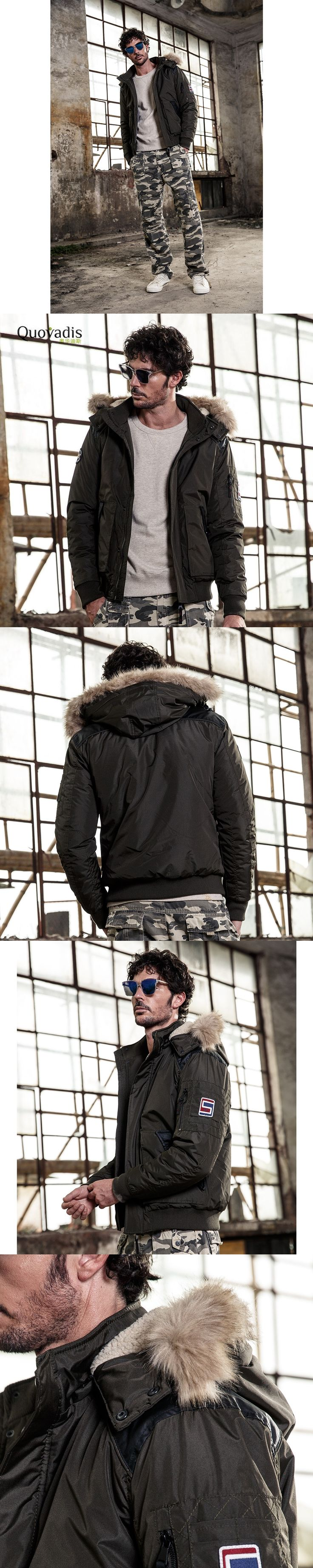 Winter mens bomber jackets men hooded Thick casual Cotton-padded jacket Loose Coat European  parkas hombre brand-clothing 2530