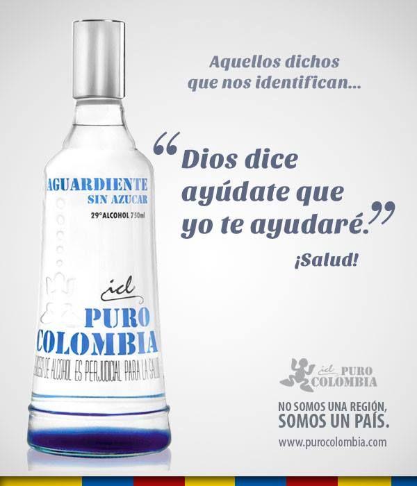 Campaña posicionamiento para la marca #PuroColombia #Publicidad